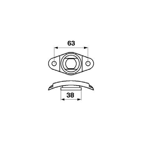 Element calota plastic 603754